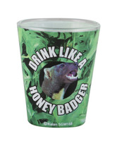 Honey Badger Shot Glass - AFG Distribution