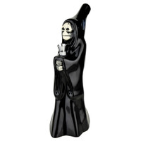 Hooded Skeleton Cupbearer Ceramic Water Pipe | Wholesale