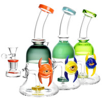 Horned Eye Bell Style Water Pipe | Wholesale Distributor