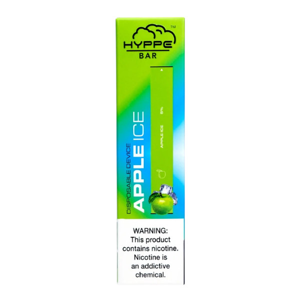 Hyppe Bar Disposable Nicotine Stick | Apple Ice Flavor