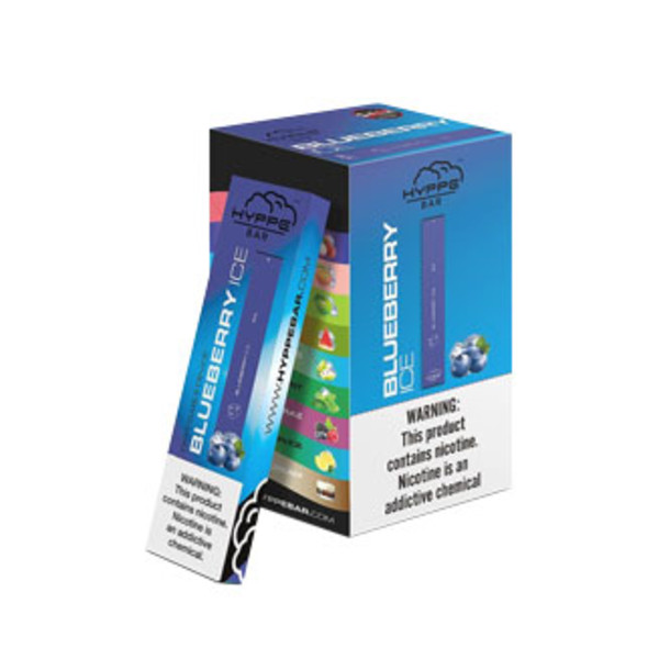 Hyppe Bar Disposable Stick | Blueberry Ice | Wholesale Distributor