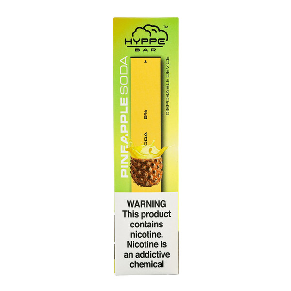 Hyppe Bar Disposable Nicotine Stick | Pineapple Soda Flavor