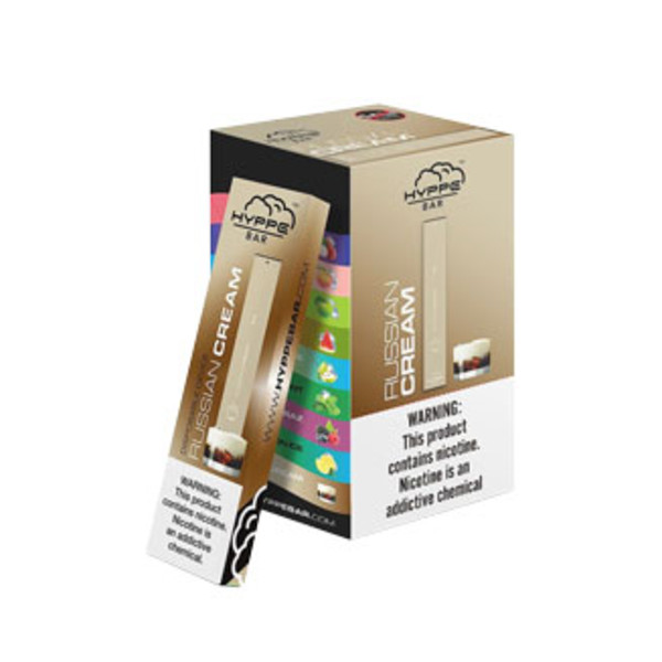Hyppe Bar Disposable Stick | Russian Cream | Wholesale Distributor