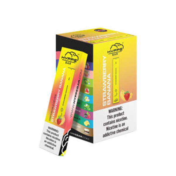 Hyppe Bar Disposable Stick | Strawberry Banana | Wholesale Distributor