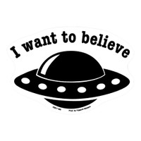 I Want to Believe Sticker | Wholesale Distributor