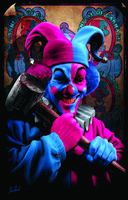 "ICP Carnage Blacklight Poster - 23""x35"""