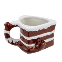It's 4:20 Somewhere Chocolate Cake Ceramic Pipe Mug | Wholesale Distributor