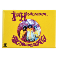 Jimi Hendrix Magnet | Are You Experienced | Wholesale Distributor