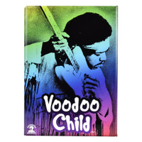 Jimi Hendrix Magnet | Voodoo Child | Wholesale Distributor