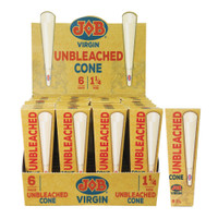Job Virgin Unbleached Cones | 1 1/4 Inch | Wholesale Distributor