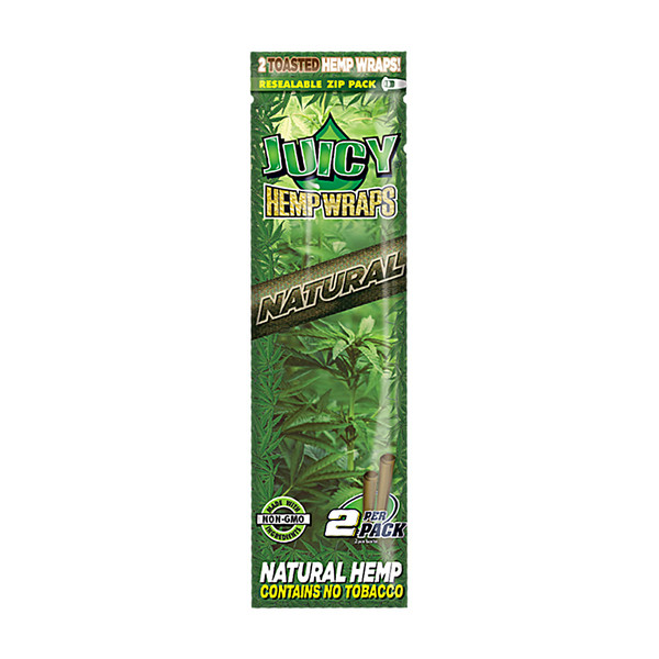 Juicy Hemp Wraps | Natural | Wholesale Distributor