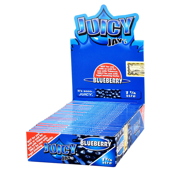 Juicy Jay's Rolling Papers | Blueberry | Master Distributor