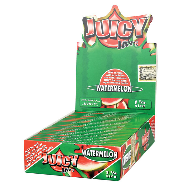 Juicy Jay's Rolling Papers | Watermelon | Master Distributor