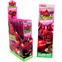 Juicy Terp Enhanced Hemp Wraps | Cherry | Wholesale Distributor