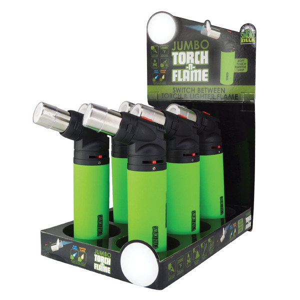 Jumbo Torch-N-Flame Butane Torch | Wholesale Distributor