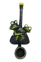 Jumping Frogs Handpipe - Mini / 3.25 - AFG Distribution