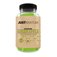 Just Kratom Gummies | Green Apple | Wholesale Distributor