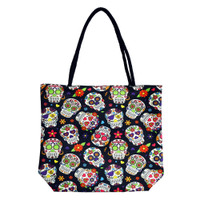 Day of the Dead | Jute Rope Handled Tote Bag | Distributor