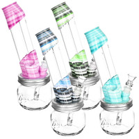 Kayd Mayd Mason Jar Water Pipe | Saxee | Wholesale