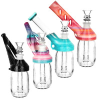 Kayd MAyd Mini Mason Jar Bubbler | Assorted Styles | Wholesale