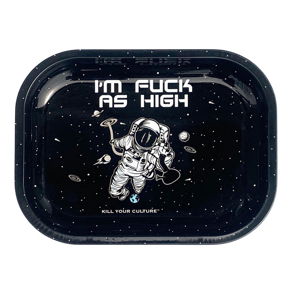 Kill Your Culture Rolling Tray | Fuck As High | Wholesale