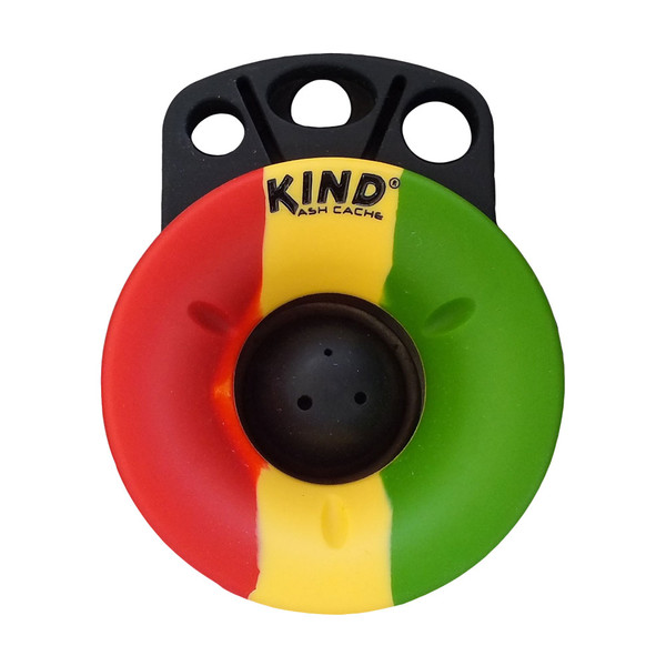 Kind Ash Cache Ashtray | Rasta | Master Distributor