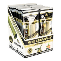 King Palm Hand Rolled Leaf | 2pk Mini | Fruit Passion | Wholesale