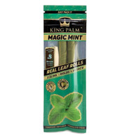 King Palm Slim Pre-Roll Wraps | Slim | Mint | Wholesale