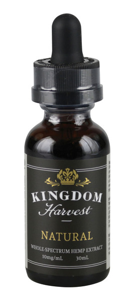 Kingdom Harvest Natural Hemp Extract - 30ml / 10mg