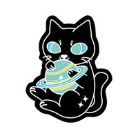 Kitty Planet Sticker | Wholesale Distributor