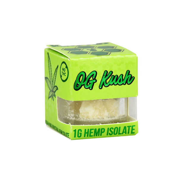 Krypted CBD Isolate | OG Kush Terpenes | Wholesale Distributor