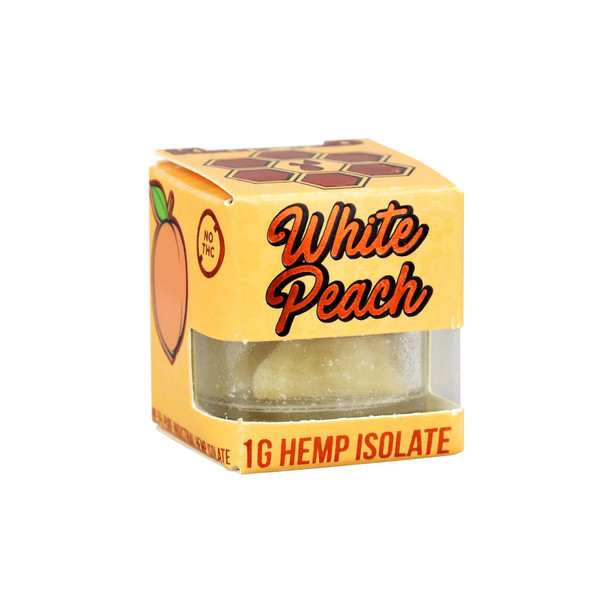 Krypted CBD Isolate | White Peach Terpenes | Wholesale Distributor