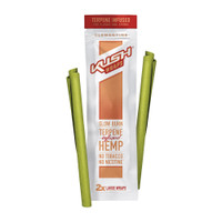 Kush Wraps Terpene Infused Hemp Wraps | Clementine | Wholesale