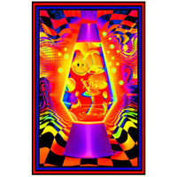 Lava Flow Non-Flocked Blacklight Poster | Wholesale Distributor
