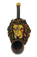 Lion Face Hand Pipe - Mini / 3.5 - AFG Distribution