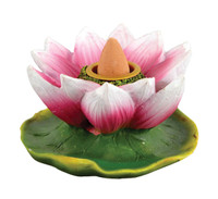 Lotus Flower Backflow Incense Burner - 3""