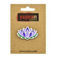 Lotus Flower Enamel Lapel Pin | Wholesale Distributor