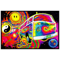 Magic Bus Non-Flocked Blacklight Poster | Wholesale Distributor