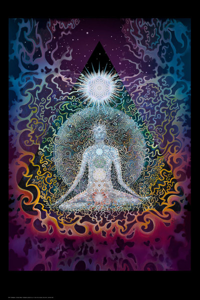 Meditation Poster - 24x36 Inches - AFG Distribution