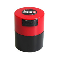 MiniVac Solid Airtight Storage Container | Red | Wholesale