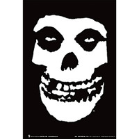Misfits Fiend Skull Poster | Black and White | Distributor