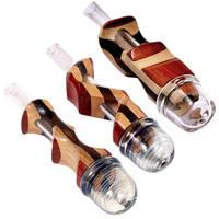 Mixed Wood n Glass Hybrid Pipe | Wholesale Distributor