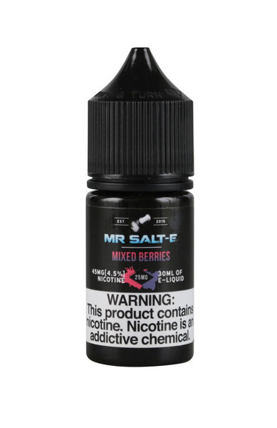 Mr. Salt-E Nic Salts - Mixed Berries - 25mg / 30ml - AFG Dist