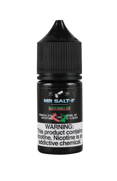 Mr. Salt-E Nic Salts - Watermelon - 25mg / 30ml - AFG Distribution