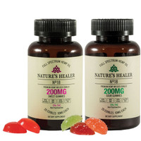 Nature's Healer CBD Gummies - 10mg 200mg