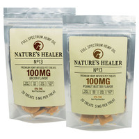 Nature's Healer CBD Pet Treats - 100mg
