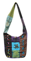 Nepal Razor Cut Bag w/ Symbol - Assorted Styles/ Colors
