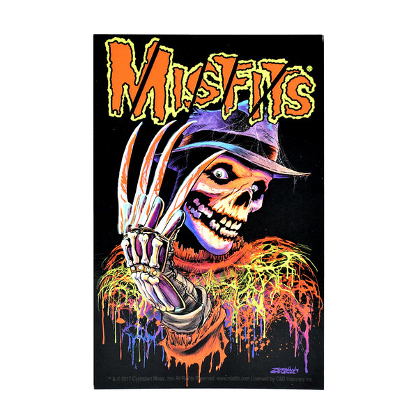 Misfits Nightmare Fiend Sticker | Wholesale Distributor