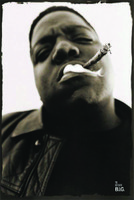 Notorious BIG Smoke Poster - 24x36 - AFG Distribution