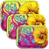 OCB Limited Edition Metal Rolling Tray | Cephalopod | Wholesale